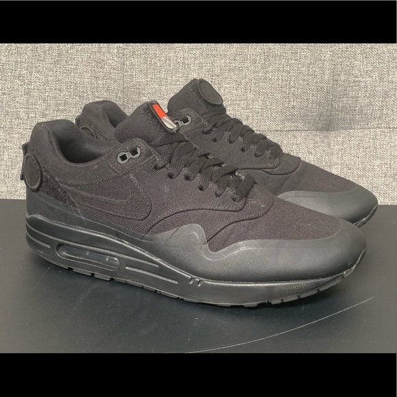 lowest price lowest discount well known Rare🔥 Nike Air Max 1 V SP patch triple black